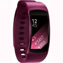 Reloj Samsung Gear Fit 2 Contra Agua Touch Gps Wi-fi Pink S