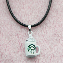 Collar Taza Café Starbucks Coffee Kawaii
