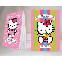Hello Kitty Souvenir Anotador Personalizado X 32!!!