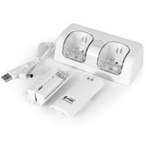 Dock De Carregamento E Baterias Para Controle Wii Remote