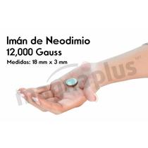 Imanes Neodimio 18 X 3 Mm De 12,000 Gauss Cada Uno 100 Pzas