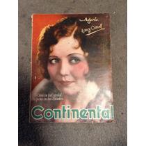 Revista Continental Agosto 1929