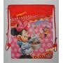 Bolso Tula Minnie-mickey Mouse Y Bebe Para Cotillón