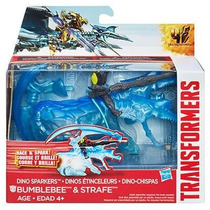 Transformers Age Of Extinction Dino Sparkers Bumblebee And