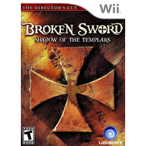 Broken Sword Shadow Of The Templars Wii Nuevo De Fabrica