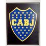 Cuadros. Escudos De Fútbol Boca Juniors. Madera. C/relieve.