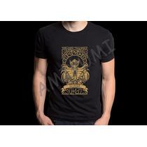 Camiseta Shaka De Virgem Cavaleiros Do Zodiaco Saint Seya