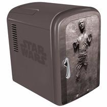 Mini Refrigerador Star Wars Hand Solo Para 6 Latas