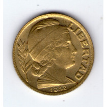 20 Centavos 1942 Fecha Chica Sin Circular !!!!