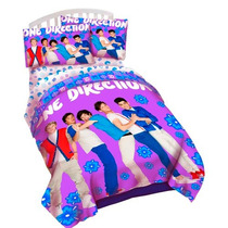 Colcha Edredon One Direction Individual Twin Importado Hm4
