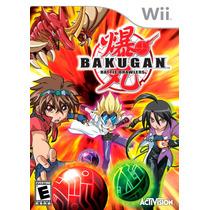 Bakugan Battle Brawlers Wii Nuevo De Fabrica