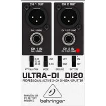 Di20 Direct Box Ativo Behringer Ultra Di-20 / Di 20