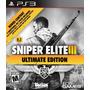Sniper Elite 3 Ultimate Edition Ps3 Nuevo Sellado Original