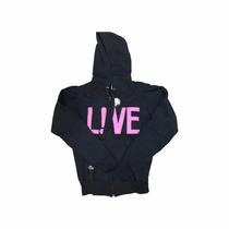 Blusa Moleton Feminino Casaco Frio Roupa Lacoste Live Ziper