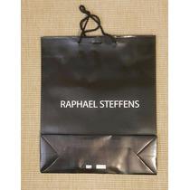 Sacola De Papel Raphael Steffens 47cm X 37cm Sobra De Loja
