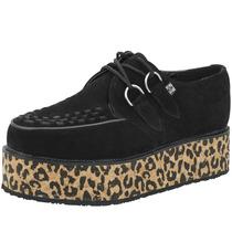 Zapatos Creepers T.u.k. Tuk ¡oferta! Talla 37 Cuero Legítimo