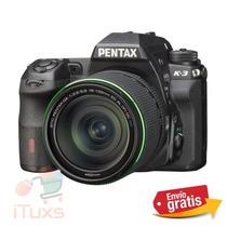 Ituxs Camara Digital K3 18-135 Lente Pek318/135
