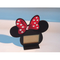 Portaretrato Mini Mickey Fibrofacil Souvenirs X 6 Unidades