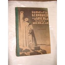 Libro Antiguo Año 1936 , Geografia Economico Agricola Del Es