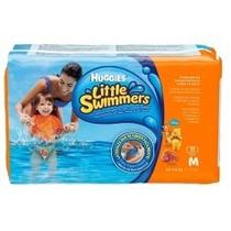 Fralda Descartável Huggies Little Swimmers Piscina M 44 Und