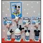 10 Souvenirs Mickey Minnie Portamensaje Primer Año Personal