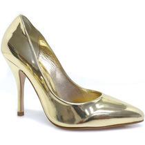 Sapato Laura Porto Scarpin Metalizado | Zariff