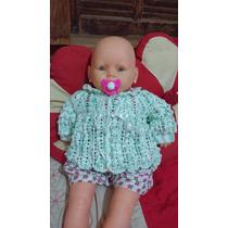Casaquinho Para Bebê De Crochê Pronta Entrega E Encomenda