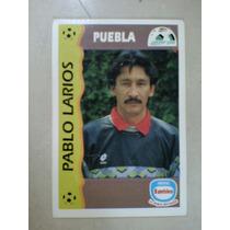Tarjeta Bambino Pablo Larios Puebla Futbol Mexico