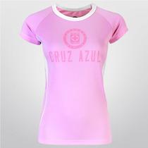 Playera Cruz Azul Pink Curves