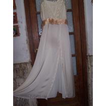 Vestido De Novia Estilo Campestre Impecable!!!
