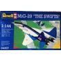 Avión A Escala Revell 1/144 Para Armarl Mig-29 The Swifts