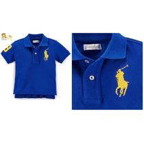 Camisa Gola Polo Ralph Lauren Bebê/baby Original