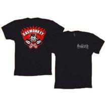 Camiseta Gas Monkey, Todas Estampas E Exclusivo Com Loguinho