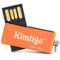 Kimtigo Memoria Usb 4gb 2.0 Modelo Kth-201 Color Naranja