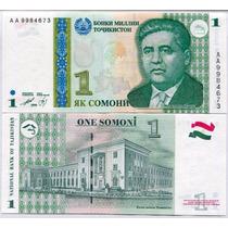 Tajikistan Billete De 1 Somoni Año 1999 Sin Circular