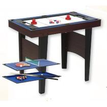 Mesa De Juegos 3 En 1- Pool, Tejo Y Ping Pong Cuotas S/i
