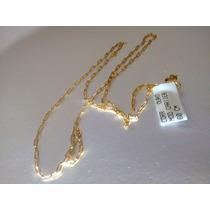Cordão Mascilino/feminino Cartier Em Ouro10x1 45cnt 1,5grama
