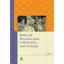 Bíblia De Recursos Para O Ministério Com Crianças Capa Dura