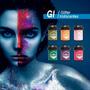 Maquillaje Artistico Para Ojos Pelo Body Painting Glitter