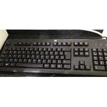 Teclado Ps2 Novo Original Do Hp Elitedesk 800 G1 Com Ç Abnt2