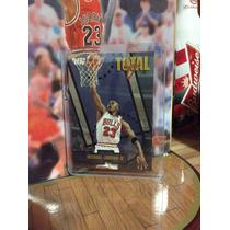 Michael Jordan Tarjeta Fleer Total O 97-98 Vv4