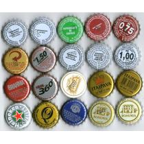 6 Tapitas Chapitas Cerveza Y Gaseosa Vos Elegis De Brasil