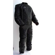 Campera Pantalon Moto Upper Termico Antidesgarro Motoscba
