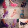 Kit Com 10 Sapatos P/ Boneca Barbie *modelos Diversificados*