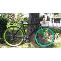 Bicicleta Fixie Híbridas 12 Velocidades Shimano 700