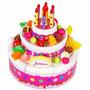 Torta Juliana Grande De Cumpleaños Luz Y Sonido Tv Original