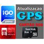 Atualize Seu Gps - Mando Pronto Cartão Memória 8gb Com 3 Igo