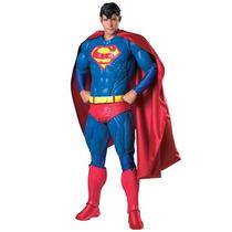 Disfraz Superman Adulto Edición De Colección