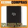 Tapa Trasera Para Blackberry Q10 Color Negro 100% Nueva!!!!!