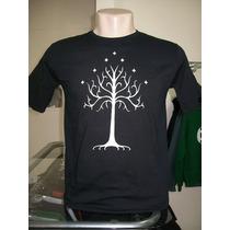 Camiseta Senhor Dos Anéis Árvore De Gondor Lord Of The Rings